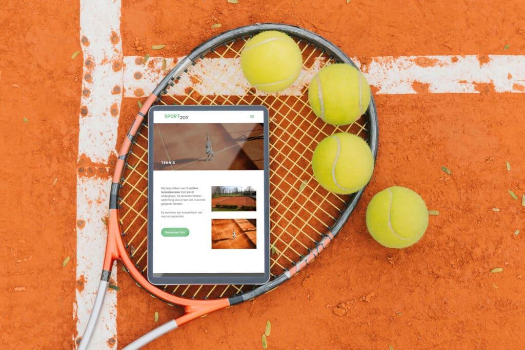 ipad tennis
